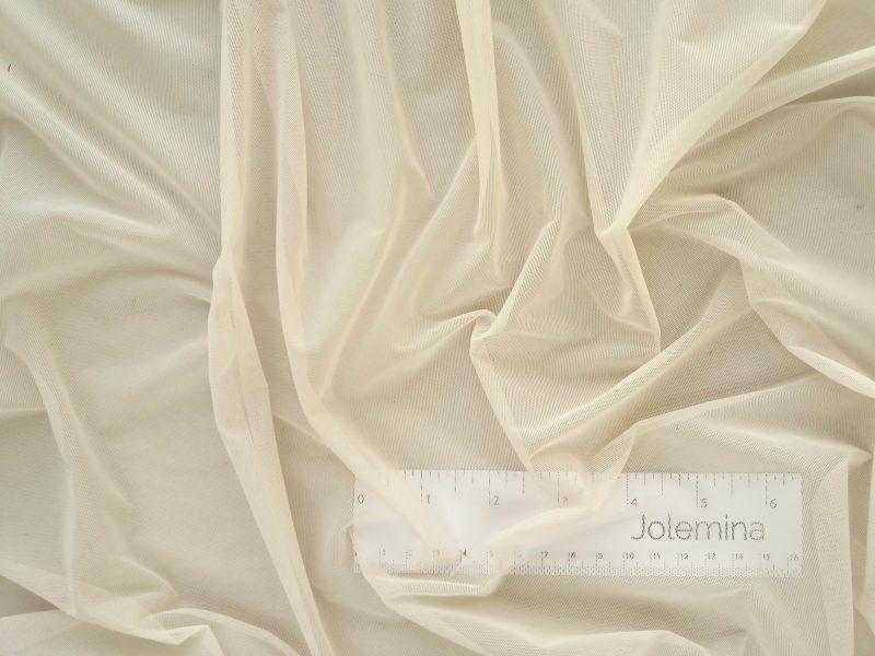 Medium weight nylon power net fabric firm 4-way stretch